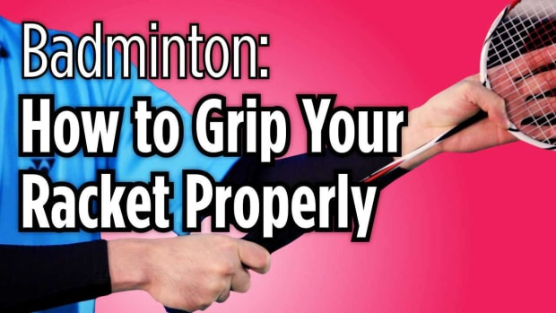 E. How to Grip Your Badminton Racket Properly Promo Image
