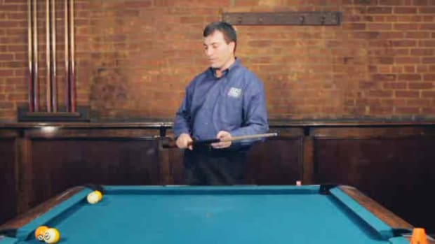 "ZY. How to Do the ""Rocket Masse"" Advanced Pool Trick Shot Promo Image"