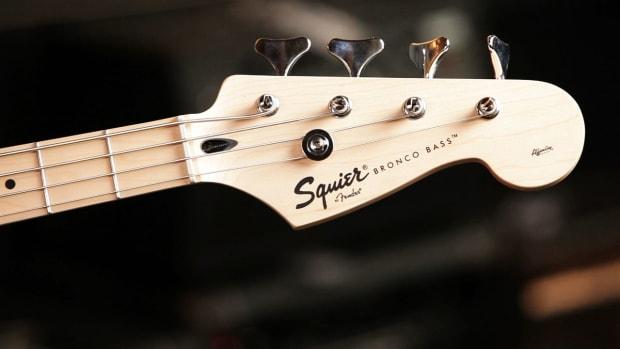 F. Fender Bronco Bass Guitar Basics Promo Image