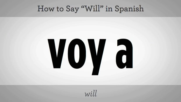 "Q. How to Say ""Will"" in Spanish Promo Image"