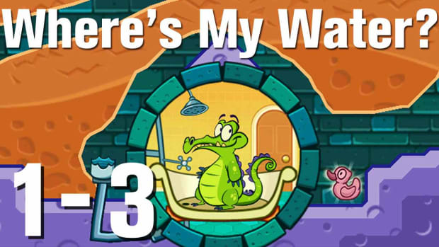 C. Where's My Water Walkthrough Level 1-3 Promo Image