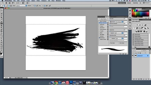 A. How to Make Brushes in Photoshop Promo Image