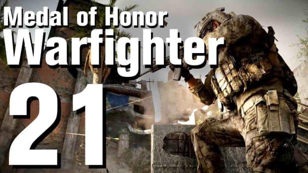 U. Medal of Honor: Warfighter Walkthrough Part 21 - Chapter 10: Stump Promo Image