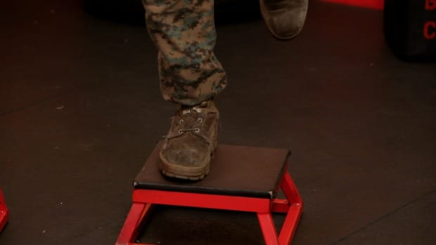 V. How to Do a One-Legged Box Jump Promo Image