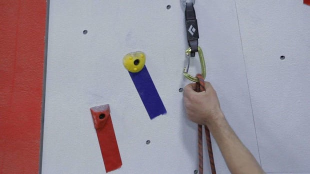 M. How to Clip on Lead for Indoor Rock Climbing Promo Image