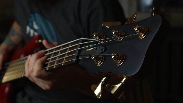 R. How to Do a Hammer-On & Pull-Off in Slap Bass Promo Image