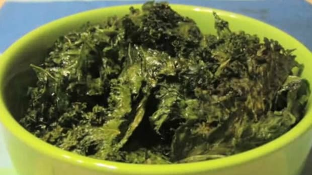 K. How to Make Kale Chips Promo Image