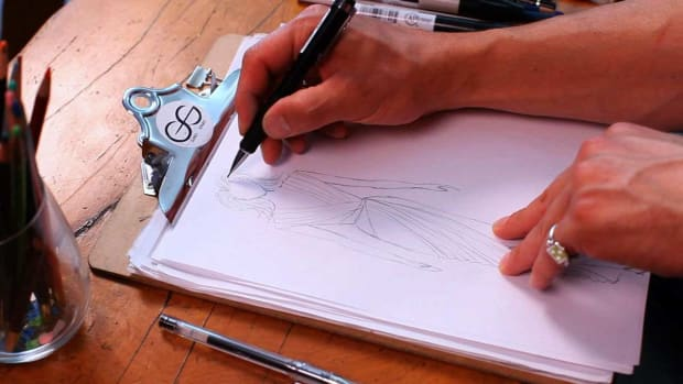 T. How to Draw Hair for a Fashion Sketch Promo Image
