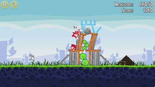 E. Angry Birds Level 1-5 Walkthrough Promo Image