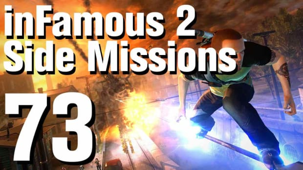 ZZZZM. inFamous 2 Walkthrough Side Missions Part 73: Convoy - Fort Promo Image