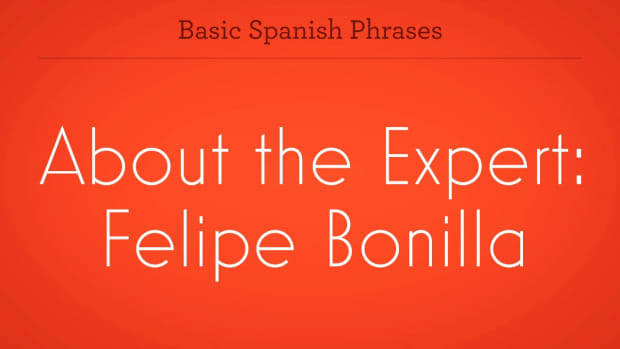 ZQ. How to Learn Spanish with Felipe Bonilla Promo Image