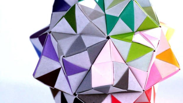I. How to Make an Origami Kusudama Promo Image