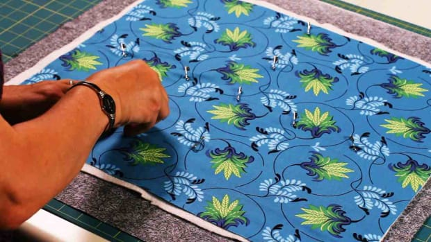 U. How to Baste a Quilt Promo Image