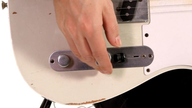 W. How to Manipulate Volume with an Overdrive Guitar Pedal Promo Image