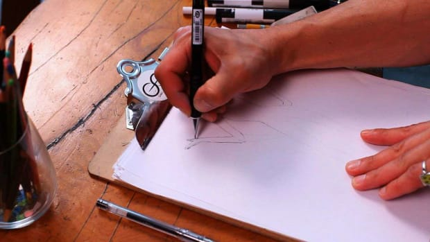 U. How to Draw Hands for a Fashion Sketch Promo Image