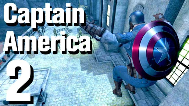 B. Captain America Super Soldier Walkthrough: Chapter 1 (1 of 2) Promo Image