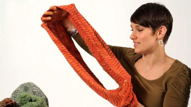 Z. How to Knit an Infinity Scarf aka Circle Scarf Promo Image