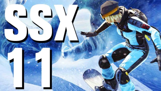 K. SSX Walkthrough Part 11 Patagonia - Code Blue Promo Image