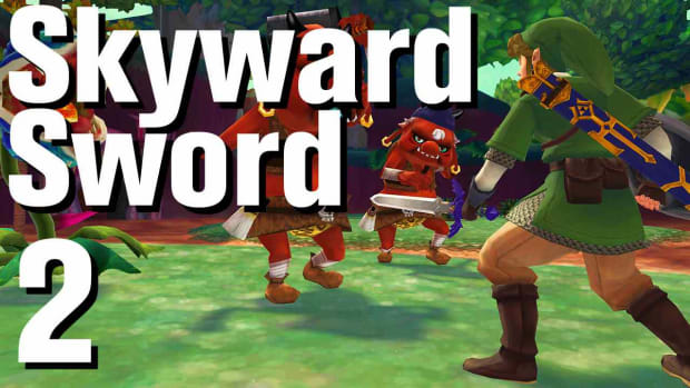 B. Zelda: Skyward Sword Walkthrough Part 2 - Skyloft Promo Image