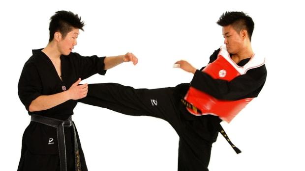 ZK. How to Do Taekwondo Sidestep Technique 1 Promo Image