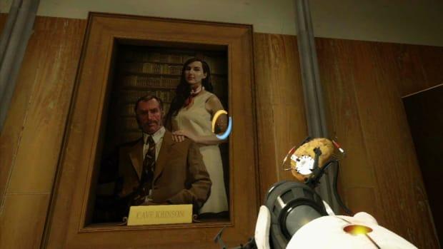 ZZZZ. Portal 2 Secrets / Chapter 7 - Propulsion Gel Room 1 - Portrait of a Lady Promo Image