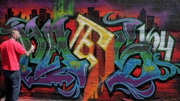 J. 4 Graffiti Letter Spacing Tips Promo Image