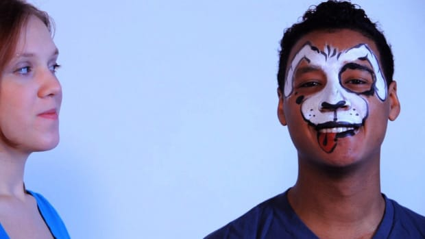 N. How to Paint a Dalmatian Face with Face Paint Promo Image