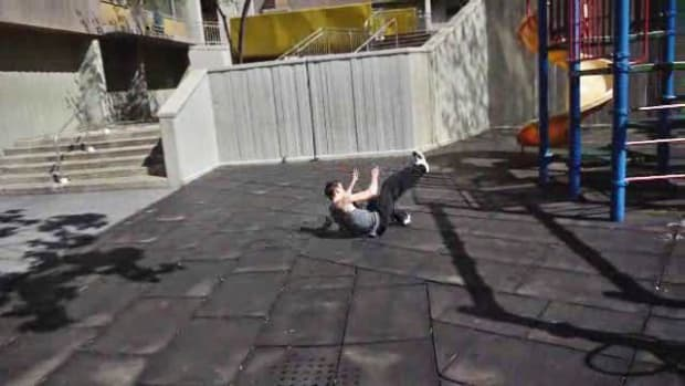 D. How to Do a Parkour Dive & Landing Roll Promo Image