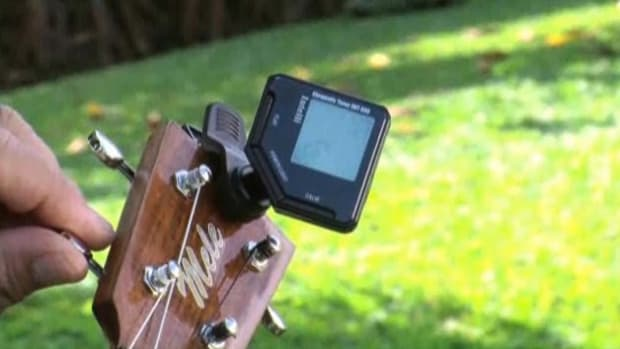 G. How to Tune a Ukulele with an Electric Tuner Promo Image