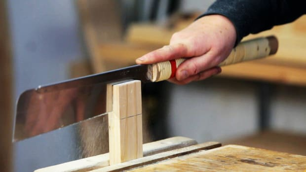 G. How to Use a Back Saw for Woodworking Promo Image