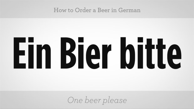 ZZZC. How to Order a Beer in German Promo Image
