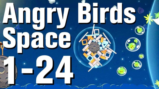 X. Angry Birds: Space Walkthrough Level 1-24 Promo Image