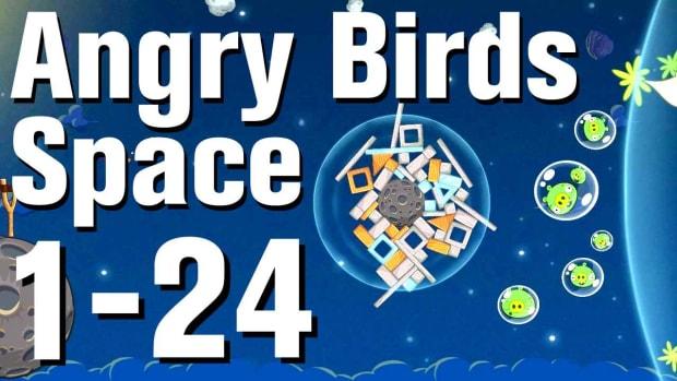 X. Angry Birds: Space Walkthrough Level 1-24 Promo Image