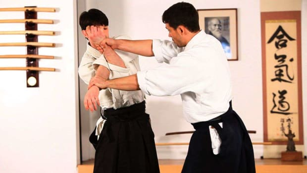 O. How to Do Juji Nage in Aikido Promo Image