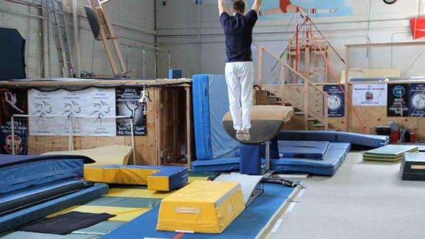 X. Gymnastics Vault Move Drills Promo Image