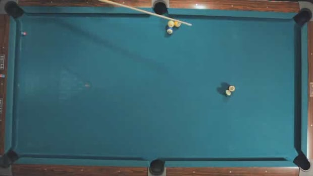 "ZG. How to Make the ""4-Ball Split"" Beginner Pool Shot Promo Image"