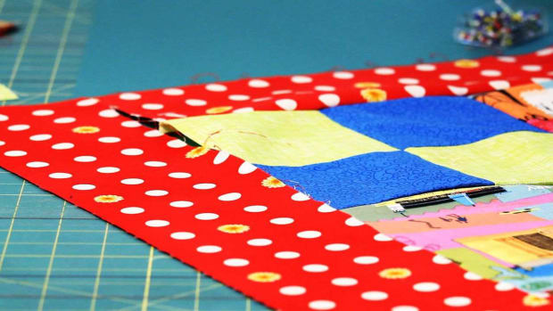 P. How to Attach Quilt Borders Promo Image