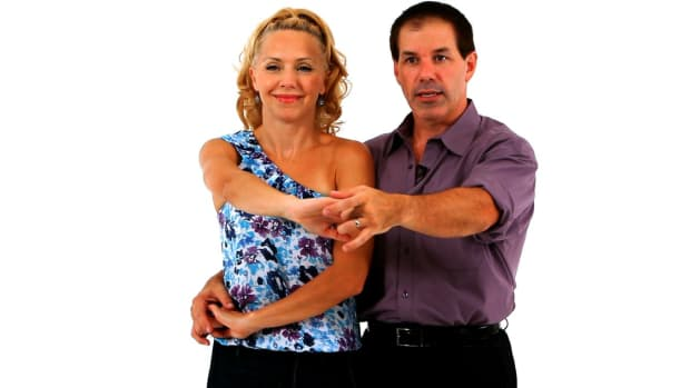 R. How to Do an East Coast Swing Dance Wrap-In Wrap-Out Promo Image