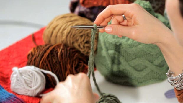 L. How to Do a Cabled Cast-On in Knitting Promo Image
