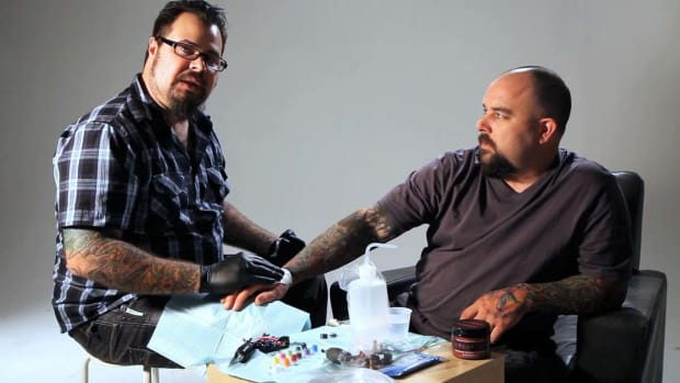 Q. How to Bandage a Tattoo Promo Image
