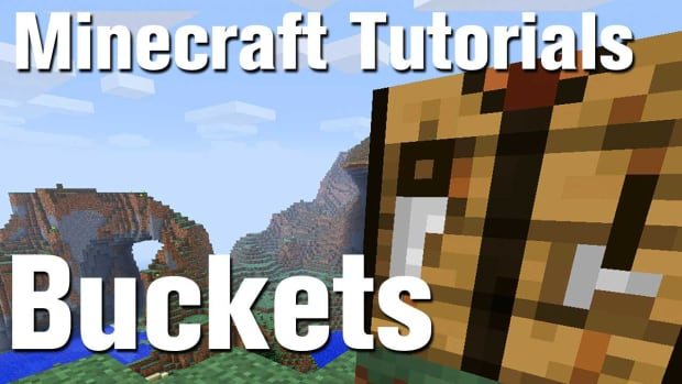Z. Minecraft Tutorial: How to Make a Bucket in Minecraft Promo Image