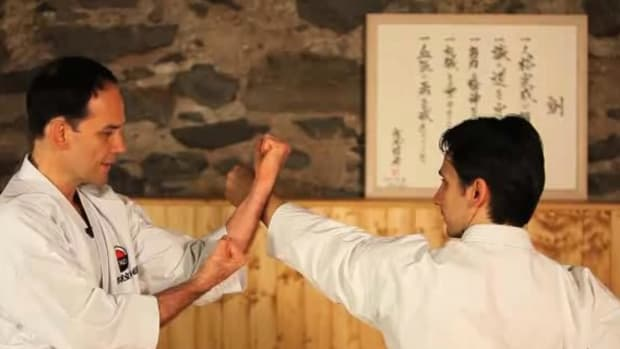 N. How to Do Advanced Blocks in Karate Promo Image