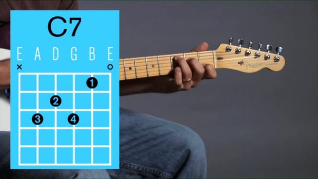 ZL. How to Play a C7 Open Chord on Guitar Promo Image