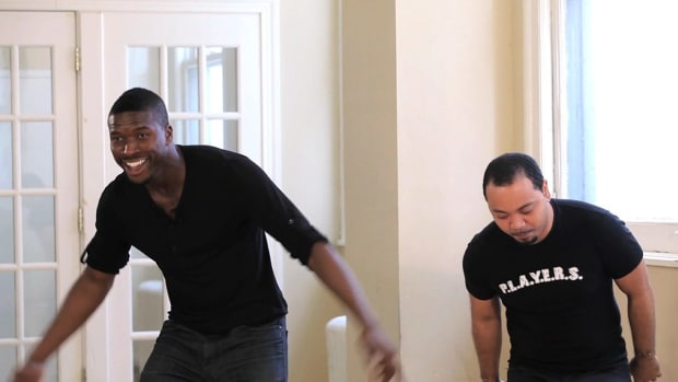 P. How to Do Beginner Power Step Dance Combo Promo Image