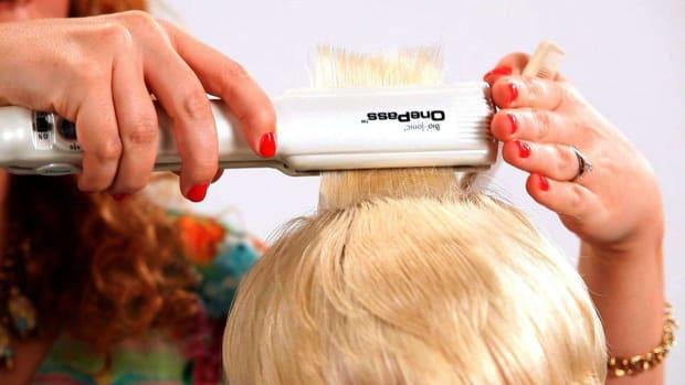 C. 8 Tips on Straightening Short Hair Promo Image