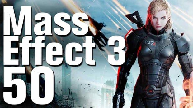 ZX. Mass Effect 3 Walkthrough Part 50 - Citadel - Save the Council Again Promo Image