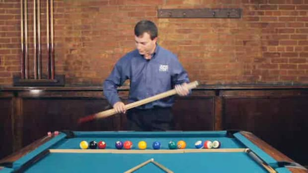 "ZZK. How to Make the ""1-2-3 Chopsticks Lefty Righty"" Pool Shot Promo Image"