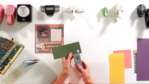Q. How to Use Craft Punches for Scrapbooking Promo Image