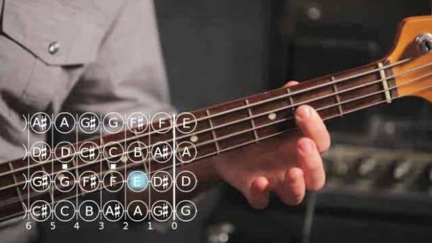 ZP. How to Play a C Major Scale on Bass Guitar Promo Image