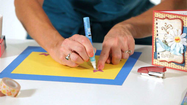 E. How to Pick Adhesives for Scrapbooking Promo Image